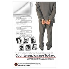Counterespionage Today 23x35 Wall Decal