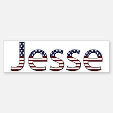 Jesse Stars and Stripes Bumper Bumper Bumper Sticker