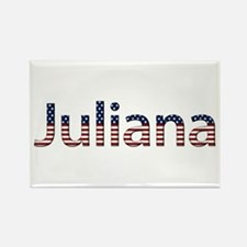 Juliana Stars and Stripes Rectangle Magnet
