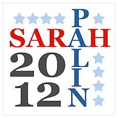Sarah Palin 2012 Poster