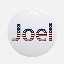 Joel Stars and Stripes Round Ornament
