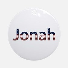 Jonah Stars and Stripes Round Ornament