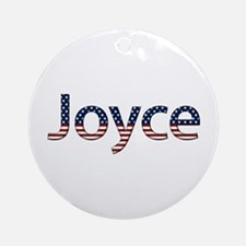 Joyce Stars and Stripes Round Ornament