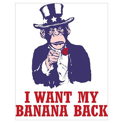 Uncle Chimp Poster