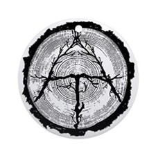 Appalachian Trail Ornament (Round)