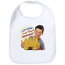 Don't Forget Bananas Bib