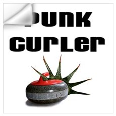 Punk Curler Wall Decal