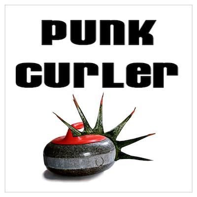 Punk Curler Poster