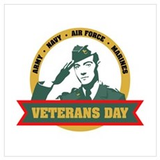 Veterans Day Gifts and Shirts Poster