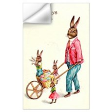 Vintage Easter Card Wall Decal