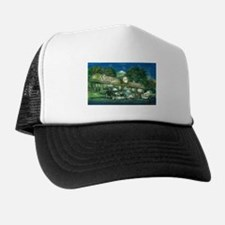 Sully's Diner Antique Car Trucker Hat
