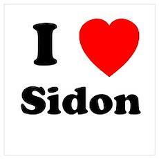 I Heart Sidon Poster