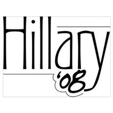 Hillary '08 Poster