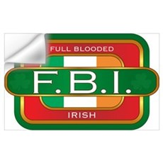 Full Blooded Irish Wall Decal
