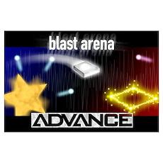 Blast Arena Advance Poster