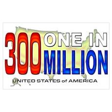 300 Million Poster