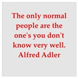 Alfred adler Wrapped Canvas Art