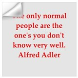 Alfred adler Wall Decals