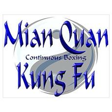 Mian Quan Kung Fu Poster