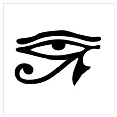 Egyptian Eye Canvas Art