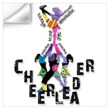 Cheerleader Wall Decals