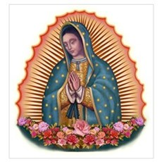 Lady of Guadalupe T2 Framed Print