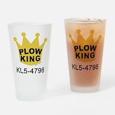 Plow King Drinking Glass