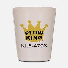 Plow King Shot Glass
