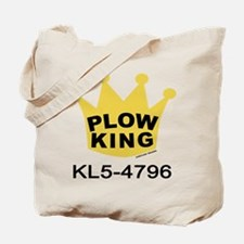 Plow King Tote Bag