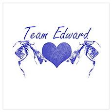 Team Edward Poster