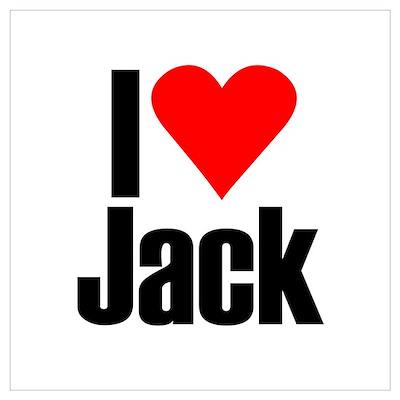 I Love Jack Poster