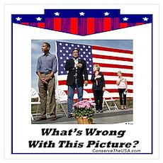 """Patriotic?"" Poster"