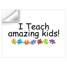 I Teach Amazing Kids Wall Decal