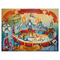 Stinson, Morrison, Hecker ArtsKC Painting Large Fr Poster