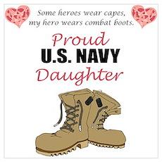 US Navy Daughter Poster