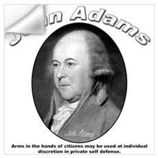 John Adams 05 Wall Decal