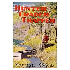 Hunter Trader Trapper Poster