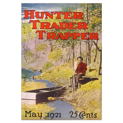 Hunter Trader Trapper Framed Print