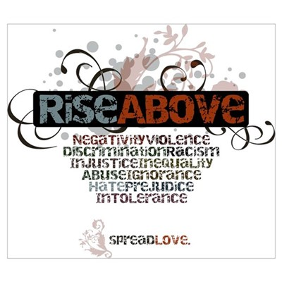 Rise Above Canvas Art