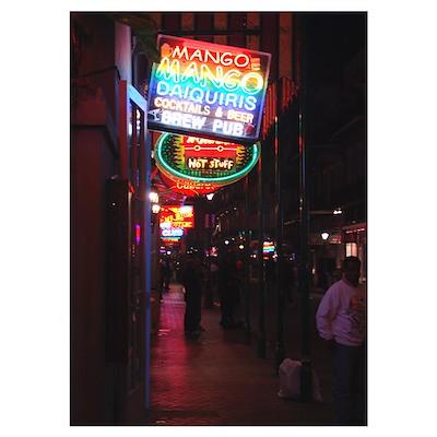 : Bourbon Street Poster