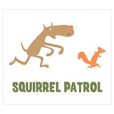Squirrel Patrol Poster