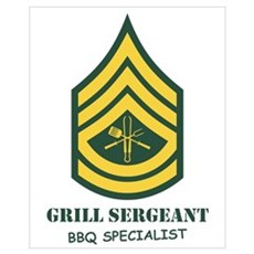 Grill Sgt. Canvas Art