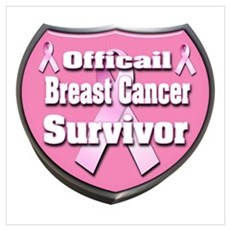 Officail Breast Cancer Surviv Poster