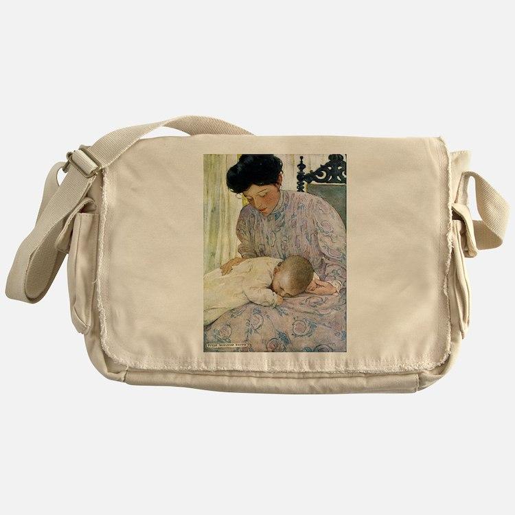 Mother and Child Messenger Bag
