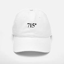 715* Home Run Record Protest Baseball Baseball Cap