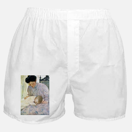 Mother and Child Boxer Shorts