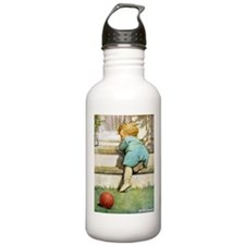 Toddler Going Up Water Bottle