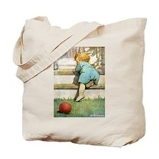 Toddler Going Up Tote Bag
