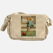 Toddler Going Up Messenger Bag