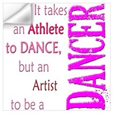 Artist Athlete Dancer Wall Decal